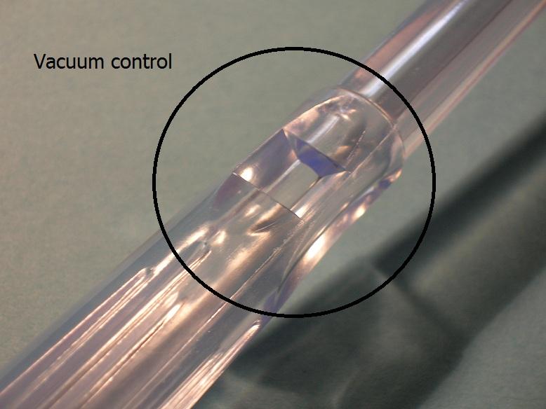Photo vacuum control Yankauer