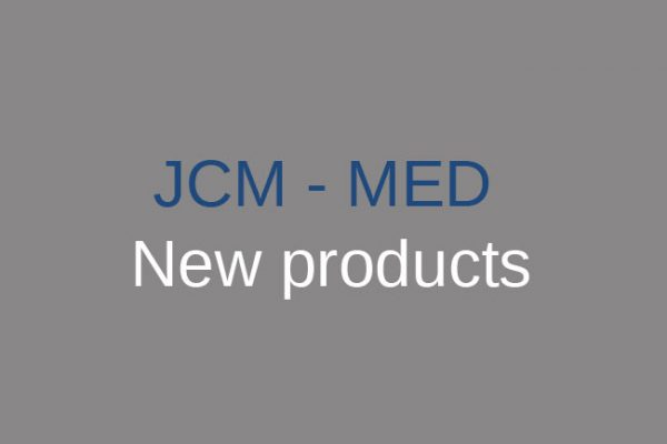 JCM-MED new products